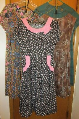 Vintage Lot of 5 Dresses  40s & 50s? Day Wear
