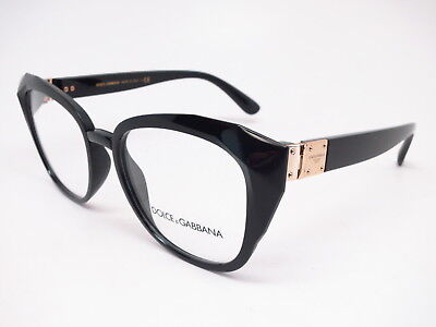 139bb092071a New Authentic Dolce   Gabbana DG 5041 501 Black and Gold Eyeglasses 51mm Rx- able