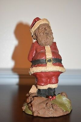 Vintage Tom Clark Christmas Gnome Mr. Santa Claus. Certificate of Authenticity.