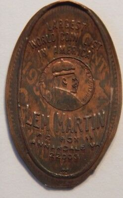 1952 Canadian Elongated Cent Edward Vii Crowned 9 August 1902 Len Martin Coins !
