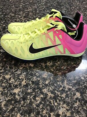 New Unisex Nike Racing Zoom Maxcat 4 Spikes Running Sprint Volt Pink 882012-999