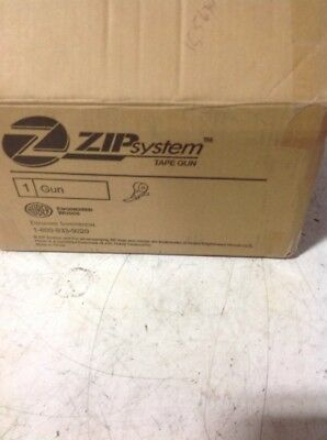 Zip System Tape Gun Brand New Never Used Huber NIB, #155634, HZIPGUN