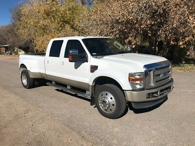 2008 Ford F-450 King Ranch 2008 F-450 King Ranch 4x4 Dually Low Miles