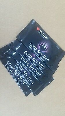 Magic The Gathering: 2019 CORE M19 STANDARD SHOWDOWN Factory SEALED Pack x 5