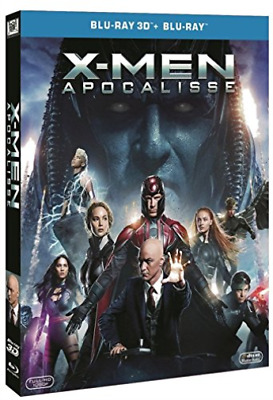 X-Men: Apocalisse 3D (Bs) Blu-Ray NUOVO