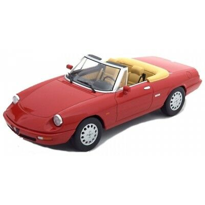 Kkdc180181 - Alfa Romeo Spider 4 1990 Red 1:18