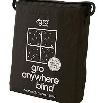Gro-Anywhere Blackout Portable Blind - Star and Moon Print - Brand New