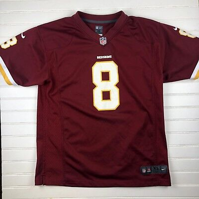 Kirk Cousins Washington Redskins YOUTH Nike NFL Jersey Size X-Large On  Field T73 d2c09e1bf2e