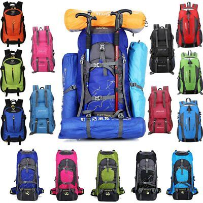Outdoor Camping Travel Hiking Bag Backpack Day Pack Luggage Waterproof Rucksack