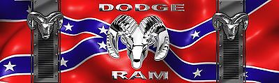 DODGE RAM  MANCAVE BANNER Work Shop Garage Shed Bar Whisky