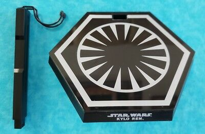 Hot Toys MMS320 1/6 Scale Star Wars Force Awakens KYLO REN FIGURE STAND ONLY