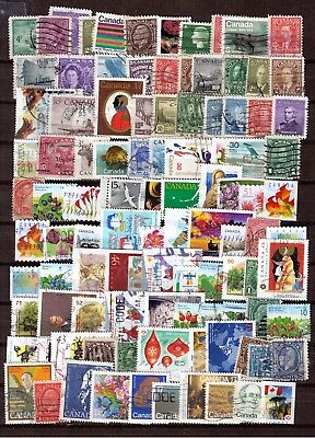 LOT OF OVER 550 DIFFERENT STAMPS USED  (6 scans)  J-349