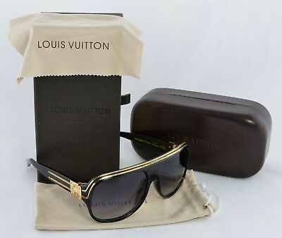 b6de74357bc3f2 Louis Vuitton Evidence Millionaire Aviator Sunglasses Designed By Pharrell  Black