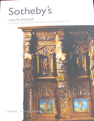 SOTHEBY'S Haute Epoque Important Early Furniture, Works of Art 10/31/2009