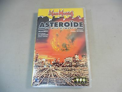 Cassette Vhs / Asteroid Point Impact / New And Packaged