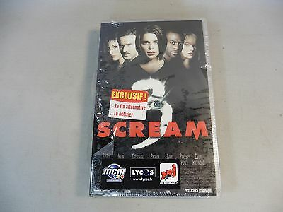 Cassette Vhs / Scream 3 / New And Packaged