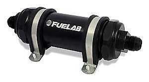 "Fuelab 82823-1 828 Series In-Line Fuel Filter with 5"" Element"
