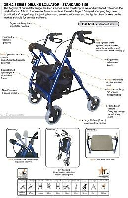 Freedom Walking Frame Rollator Foldable