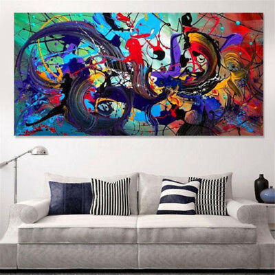 Unframed Large Canvas Huge Oil Painting Picture Modern Home Wall Decoration Art