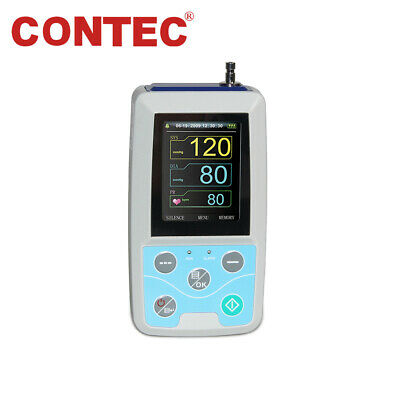 CONTEC ABPM50 Arm 24h NIBP Ambulatory Blood Pressure Monitor,Software,Adult cuff