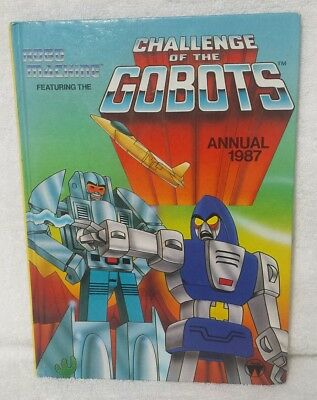 Robo Machine Challenge of the Gobots Annual Book 1987 80s Vintage
