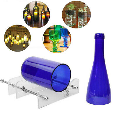 Glass Wine Beer Bottle Jar Cutter Machine Tool Kit Crafts Art Cutting DIY Newest