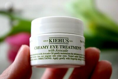 Kiehl's CREAMY EYE TREATMENT with Avocado 0.5oz | 14g Lotion Cream Moisturizer