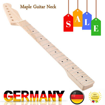 Hot 22 Frets Replacement Maple Neck Fingerboard for TL Electric Guitar New L7G3