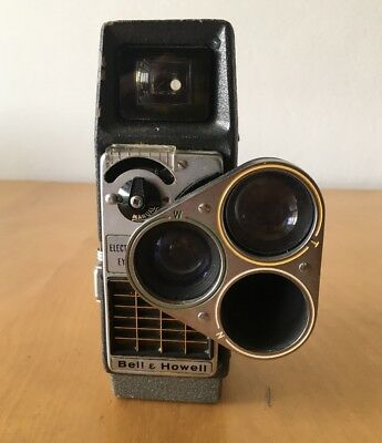 Bell Howell Electric Eye Vintage 1950s Movie Camera