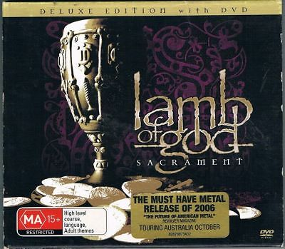 Lamb Of God - Sacrament Deluxe Edition Double Cd / Dvd