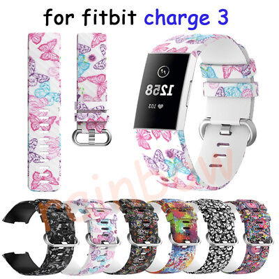 For Fitbit Charge 3 Wrist Straps Wristbands Replacement Accessory Watch Bands UK