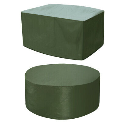 Savisto Large Waterproof Patio Furniture Covers for Outdoor Garden Rattan Table