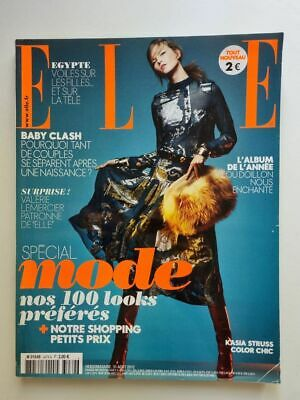 Magazine mode fashion ELLE french #3479 31 aout 2012 spécial mode cover 2