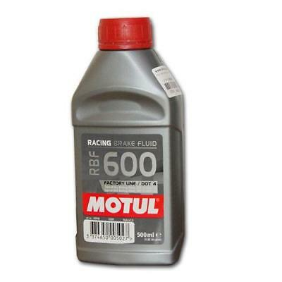 Motul RBF600 Racing Brake Fluid - 500mL (no extra freight for additional bottle)