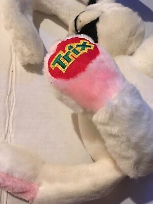 Trix Cereal Rabbit Plush Advertising Promotion General Mills Animal Fair Toy