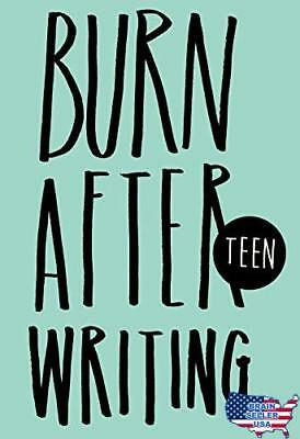 Burn After Writing Teen, New, Free Ship