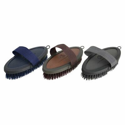 Coldstream Faux Leather Horse Grooming Body Brush