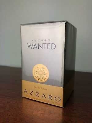 New Azzaro Wanted Cologne for Men edt Spray 3.4oz