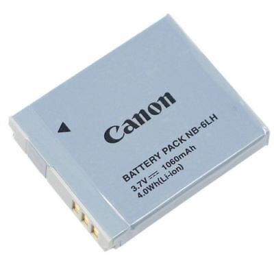 Original Canon NB-6LH Battery for Canon PowerShot S120 SX510 HS SX520 HS Camera