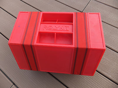 New Red Rolykit Storage Box For Tools Hardware Parts Crafts Jewelry Tackle 57""