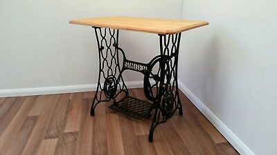 Singer Cast Iron Treadle Base Sewing Machine Table