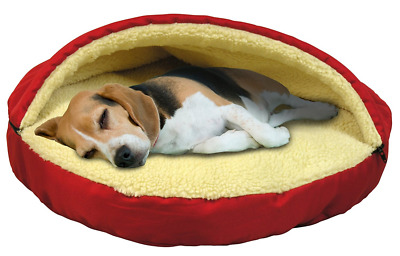 Deluxe Pet Cave Dog Puppy Cat Soft Warm Winter Sleeping Bed House Mat Pad