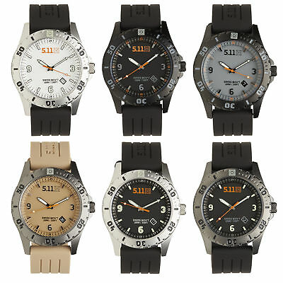 5.11 Men's Military Tactical Sentinel Watch, Water Resistant, Style 50133