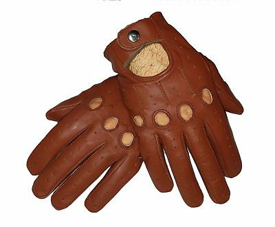 New Real Leather Men's Driving Top Quality Gloves