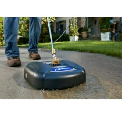 """Powerfit 14"""" PF31024 Surface Clean Driveway Sidewalk and Patio Cleaner"""