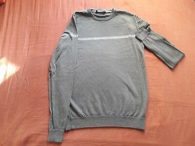 033ad523e205 Guess by Marciano Pull pour Homme M comme Neuf, gris vert