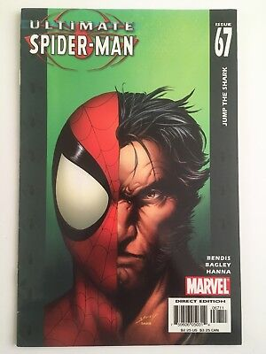 Ultimate Spider-Man 67.   Dec 2004. Bendis / Bagley