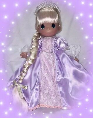 "Disney Princess Rapunzel Doll - Precious Moments 12"" Vinyl Doll"
