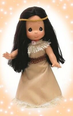 "Disney Pocahontas Doll  - Precious Moments 12"" Vinyl Doll"