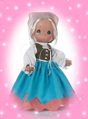 "Cinderella Peasant - Precious Moments 12"" Vinyl Doll"